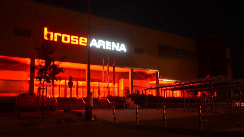 Ab dem 15. Dezember das neue Impfzentrum: die Brose Arena in Bamberg.