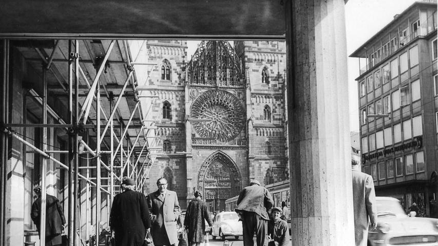 Historische Karstadt-Aufnahmen: Ein gigantisches Bauprojekt nimmt Gestalt an