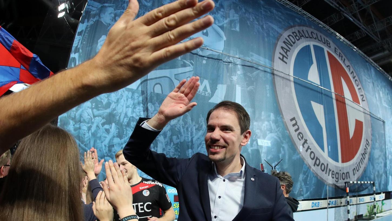 Handball mit Zuschauern ab 1. Oktober: Geschäftsführer René Selke hält den HC Erlangen für gut darauf vorbereitet.