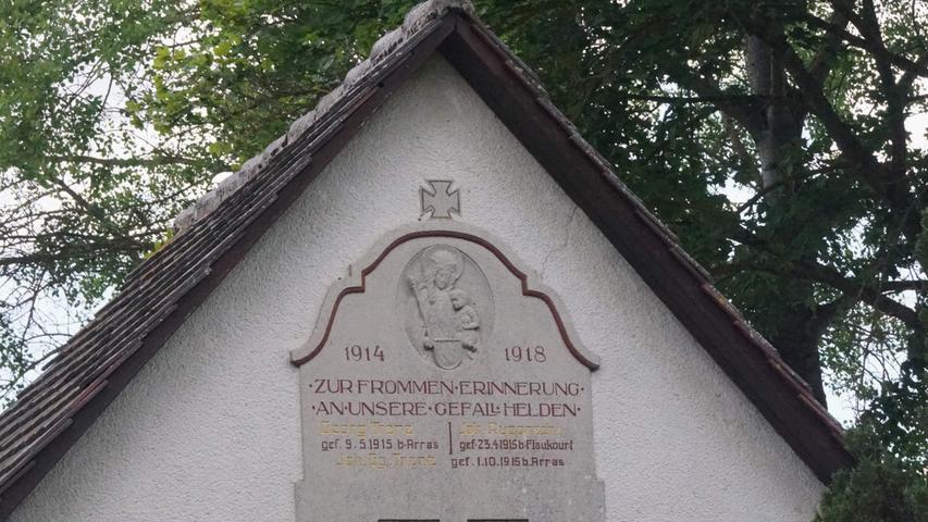 Kapelle Zur Heiligen Dreifaltigkeit in Reichenbach. Foto: Brigitte Grüner