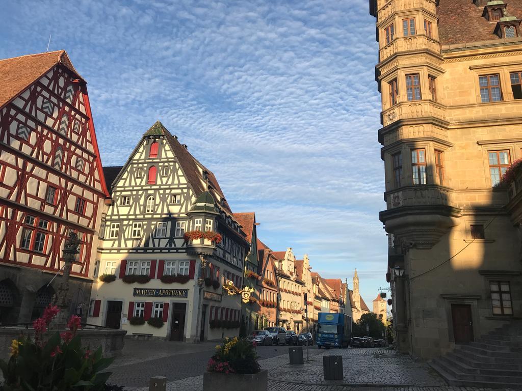 FOTO: Hans Böller, Wanderreporter 8/2019...MOTIV: Stadtansicht; Rothenburg o.d.Tauber