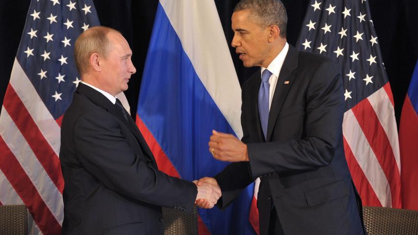 Kremlchef Wladimir Putin auf dem Höhepunkt seiner Macht