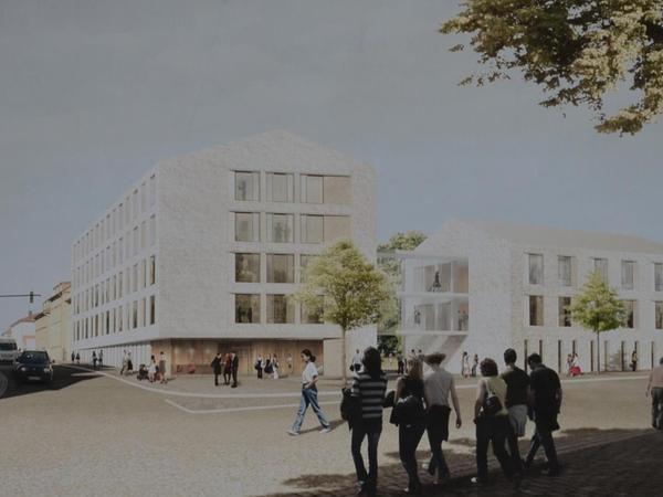 Kam bei den Experten auf Platz 2: die Idee der Berliner Architekten aus dem Hause Hascher Jehle Design GmbH.