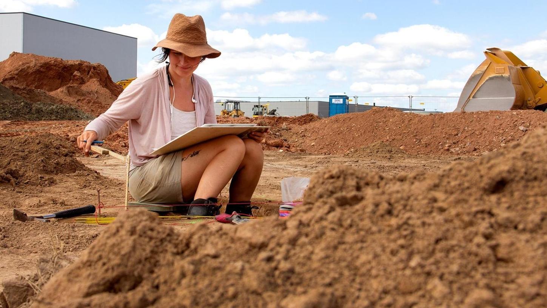Ein rund 800 Quadratmeter großes Grundstück wurde in den vergangenen Wochen archäologisch untersucht. Jetzt werden die Ergebnisse ausgewertet.