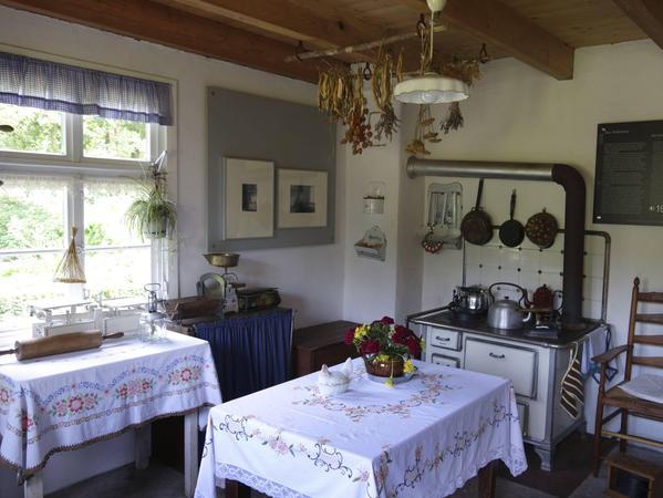 Die Küche im Siedlerhof des Emsländer Moormuseums
