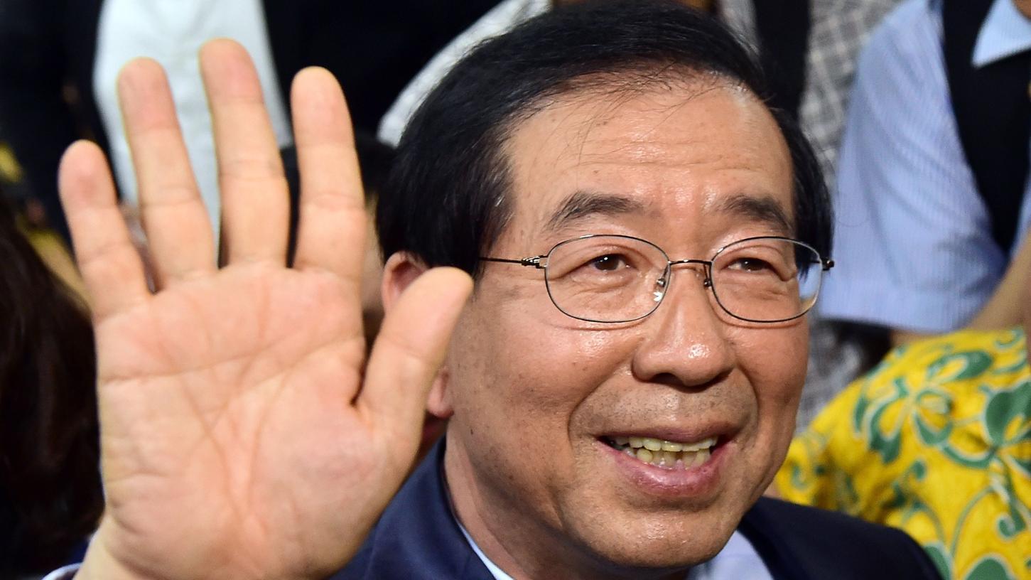 Die Wahl von Park Won-Soon zum Bürgermeister von Seoul löste Erschütterungen aus.