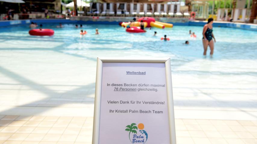 FOTO: Hans-Joachim WincklerDATUM: 06.7.2020.MOTIV: Palm Beach Erster Tag nach der Corona-Pause
