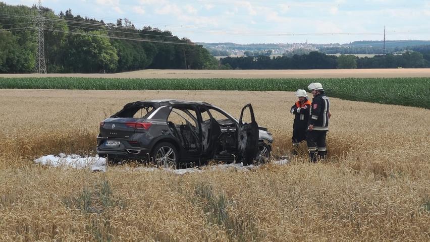 Motorradfahrer stirbt bei schwerem Unfall im Landkreis Fürth