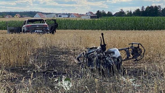 Landkreis Fürth: Motorrad und SUV kollidieren frontal - 46-Jähriger stirbt