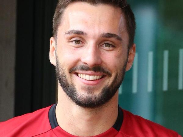 Glücklich beim Club: Fabian Schleusener.