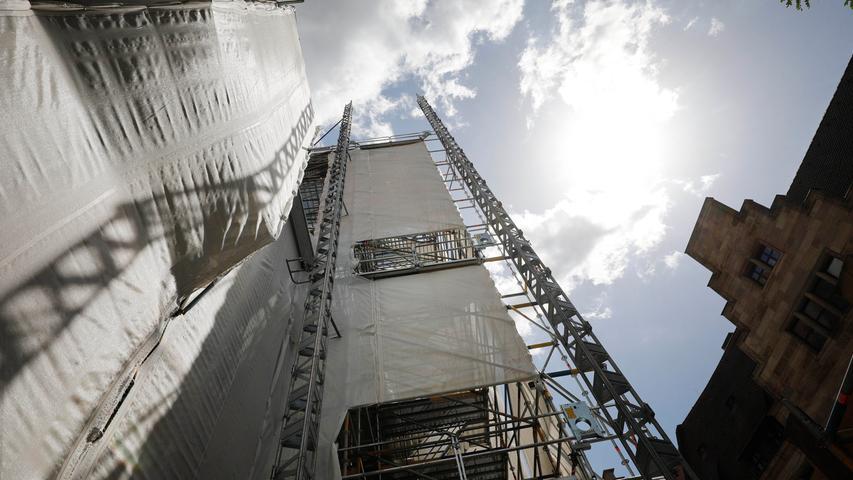 ... oder auf den Turm. Die soll es abermöglichst ab September wieder geben.