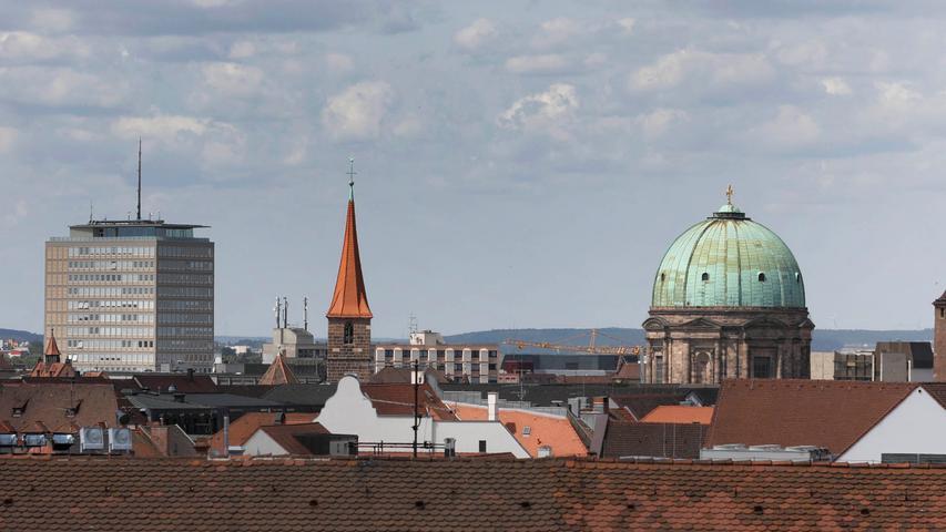 ... und zum Scchluss noch ein Blick über andere Kirchendächer.