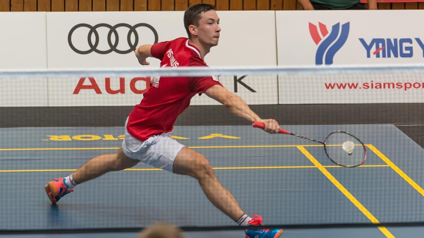Vorzeige-Eigengewächs Johannes Pistorius gestaltete maßgeblich den Aufstieg des TSV Freystadt bis in die Badminton-Bundesliga mit. Jetzt wechselt er nach Saarbrücken.