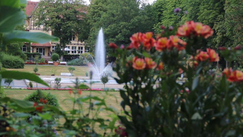 MOTIV: Kurpark Bad Windsheim FOTOS: Günter Blank