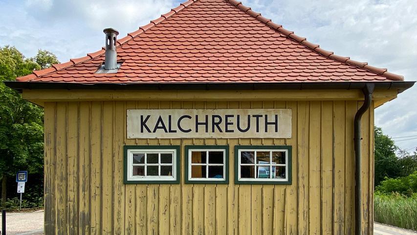 Viele schöne Ecken gibt es in diesem Eck des Landkreises Erlangen-Höchstadt. In Kalchreuth zum Beispiel den örtlichen Kulturbahnhof.