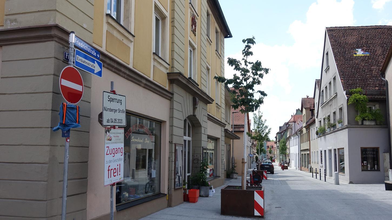 Tatort Friedrichstraße. Hier wurdeim vergangenen Jahr eine Frau niedergestochen. Im Krankenhaus erlag sie ihren Verletzungen.