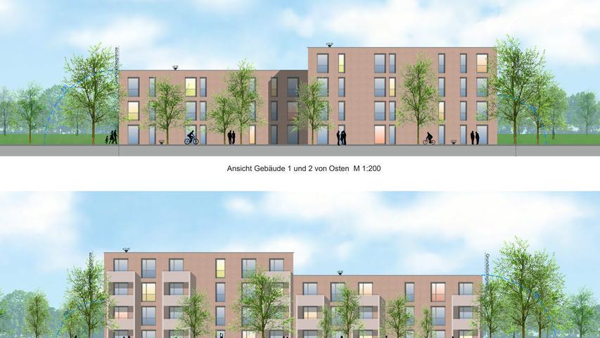 So sollen die Neubauten in der Paul-Keller-Straße aussehen.