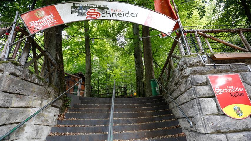 Auch der Fritz Schneider-Keller macht nur während des Annafestes auf. Heuer bleibt daher zu.