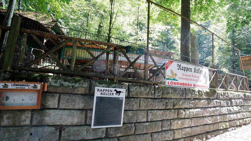 Der Rappen-Keller wird derzeit nicht bewirtschaftet.