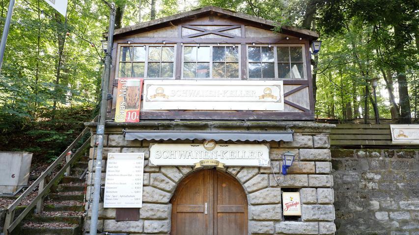 Auch der Schwanen-Keller, der seine Pforten nur zum Annafest öffnet, bleibt heuer zu.