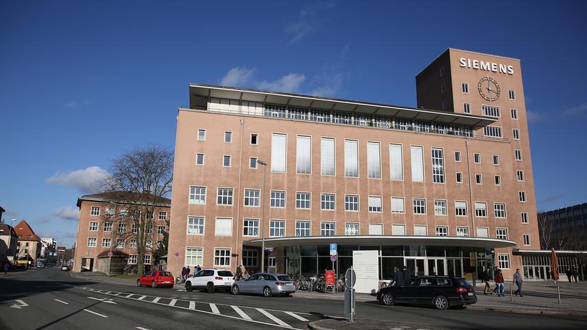 Wenn der Umbau abgeschlossen ist, soll der neue Uni-Standort an der Werner-von-Siemens-Str. 50