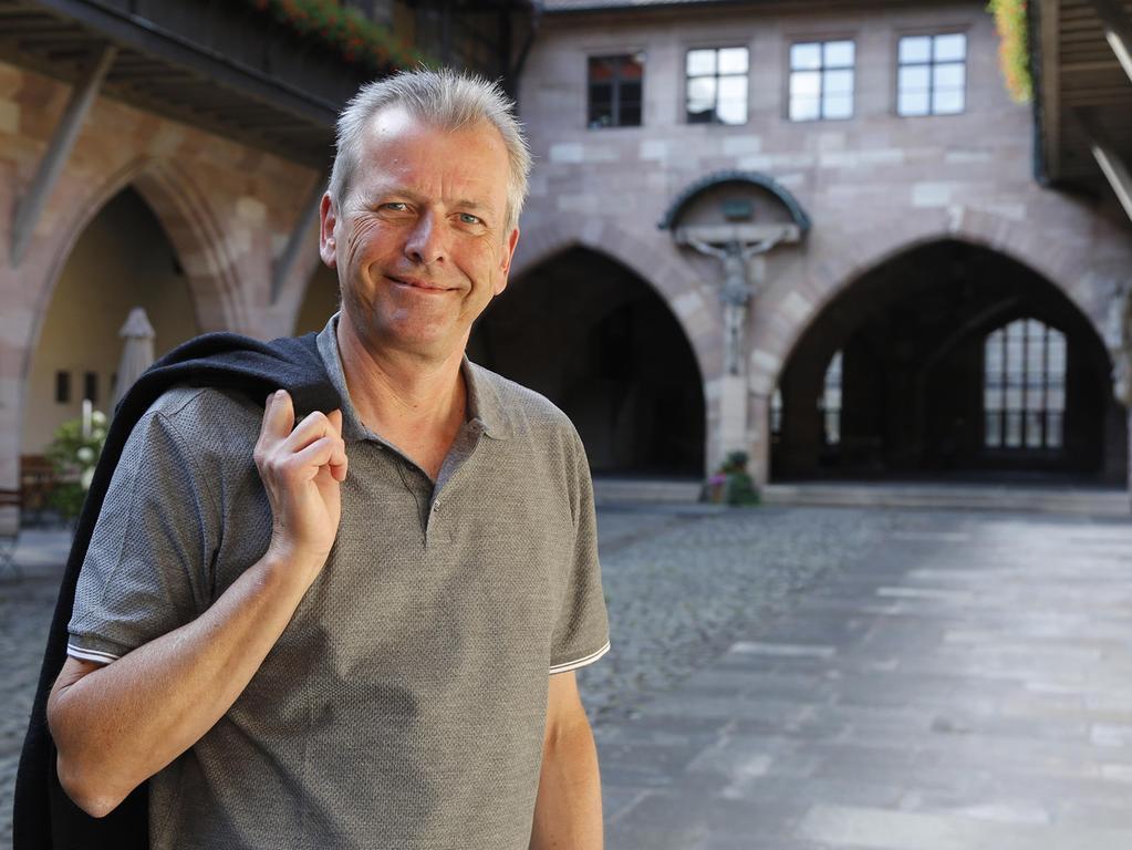 Ulrich Maly: Nur noch selten ist er in der Nürnberger Innenstadt.