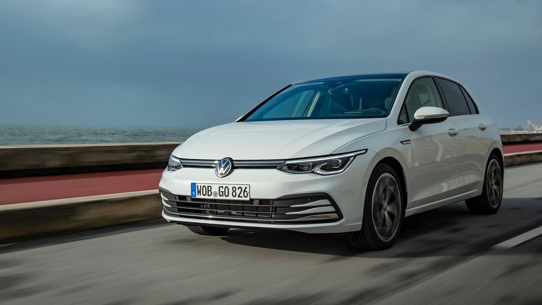 VW Golf: Auch die Generation 8 bleibt einer zeitlos-klassischen Designphilosophie treu.