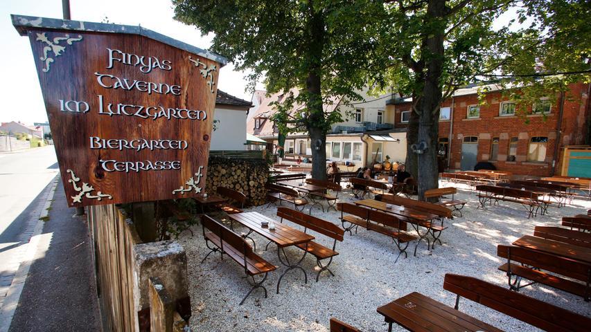 Finyas Taverne im Lutzgarten, Nürnberg