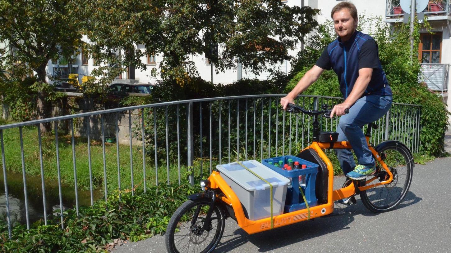 Im Wahlkampf ein gefundenes Fressen: die grüne Forderung nach Zuschüssen für Lastenfahrräder.