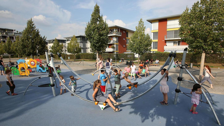 Mit dem Südstadtpark gewann das Gelände der ehemaligen William-O.-Darby-Barracks in Fürth an Attraktivität.