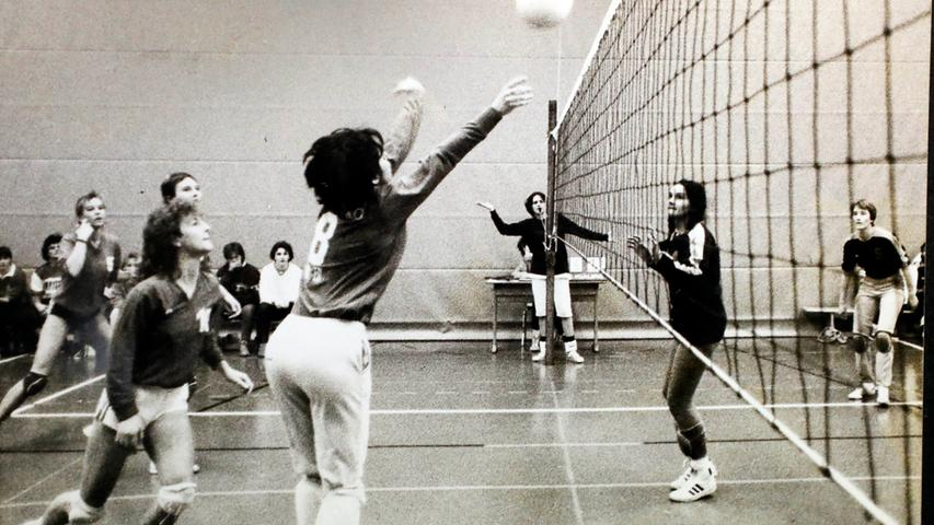 Volleyball war der