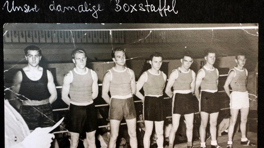 Sogar eine Boxstaffel gab es kurzzeitig bei der Sportvereinigung Jahn.