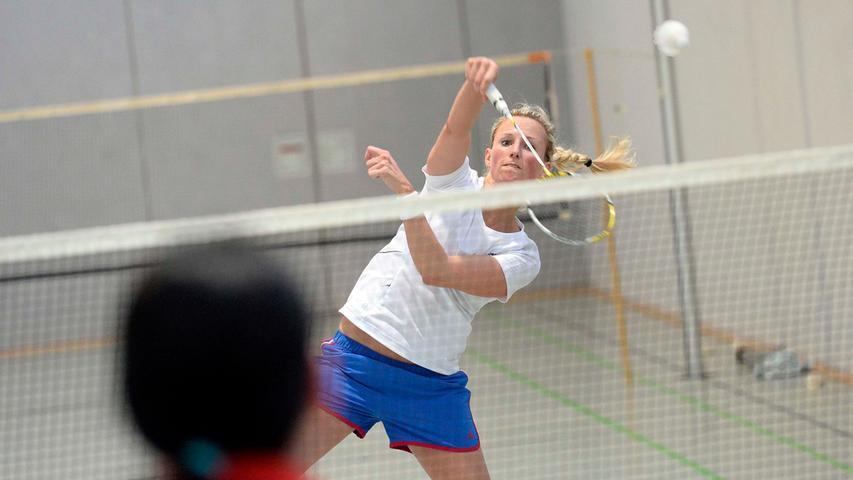 Badminton ist eine der