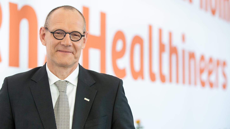 Vorstandschef von Healthineers: Bernd Montag.