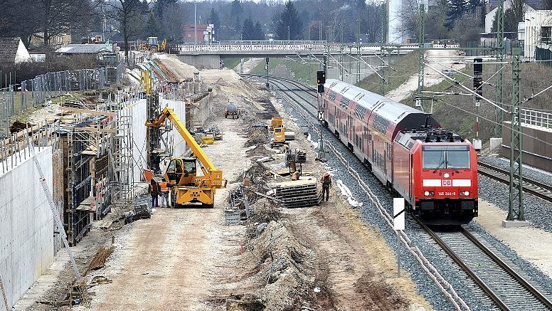 Gleise, Brücken und mehr Lärmschutz