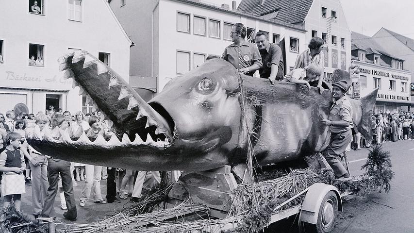 Volksfestzüge von 1953 bis 1978