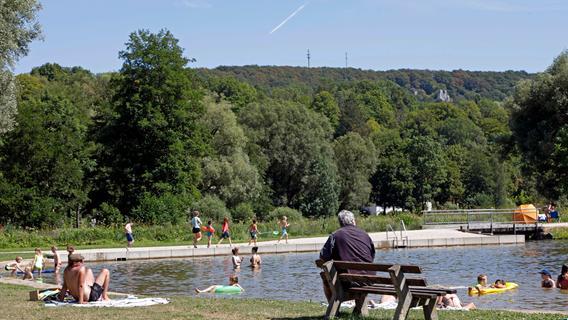 Ab ins Nass: So sieht der Naturbadesee Heiligenstadt aus