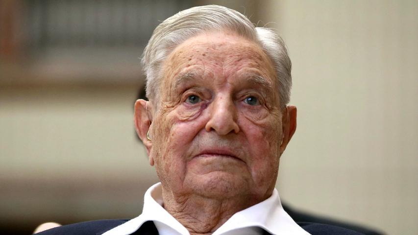 Auch im hohen Alter eine Reizfigur: George Soros, gebürtiger Ungar, US-Milliardär und Philanthrop.
