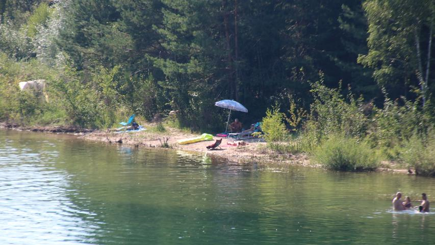 Brombachsee August 2020