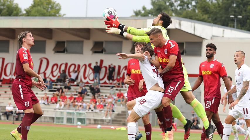 Erstes Testspiel, erster Sieg: FCN gelingt ein 1:0 in Regensburg