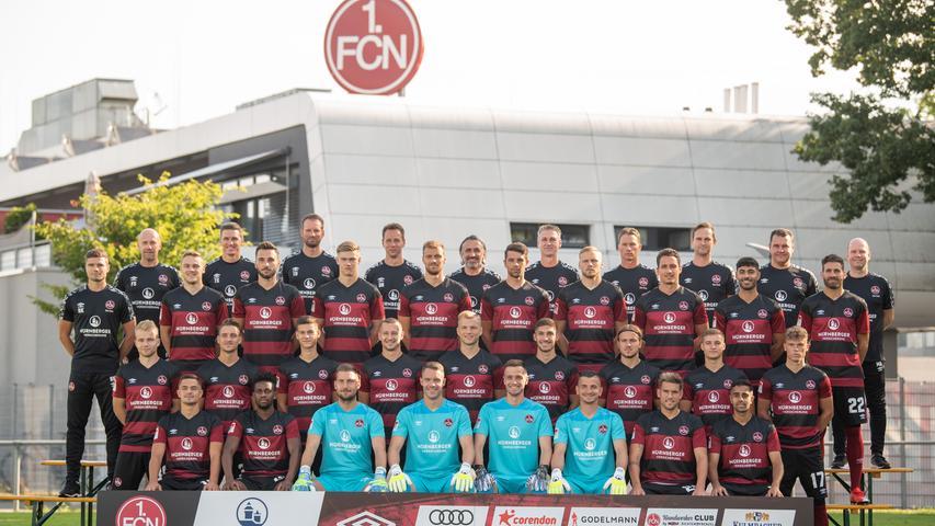 Voller Fokus, FCN! Das ist der Club-Kader für die Saison 2020/21
