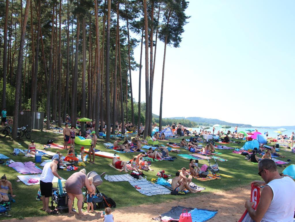 Kritiker befürchten, dass durch die Ansiedlung des Parks, das Seenland noch weiter belastet wird.