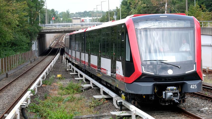 Modern und schick: Das sind Nürnbergs neue U-Bahn-Züge