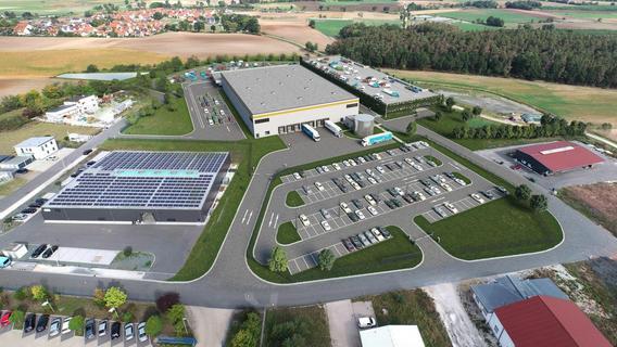 Amazon-Verteilzentrum: So ist der aktuelle Stand beim Neubau in Pommersfelden