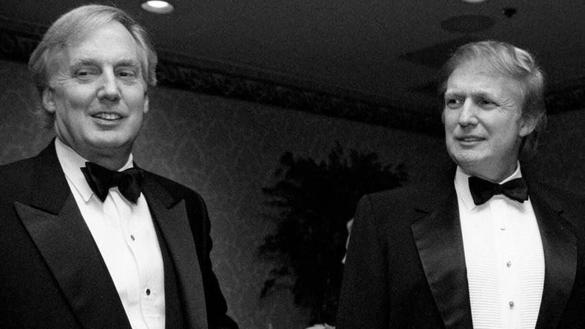 Der Bruder des amtierenden US-Präsidenten starb am 15. August im Alter von 71 Jahren. Donald Trump trauerte um seinen Bruder Robert:
