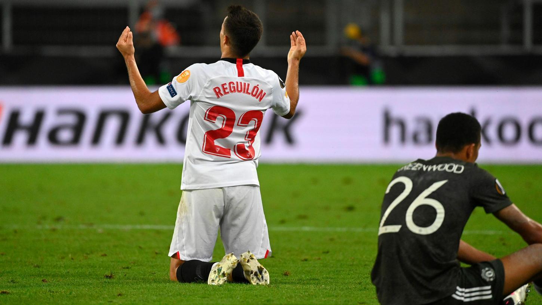 Sevilla jubelt, ManUnited trauert: Der erste Final-Teilnehmer der Europa-League steht fest.