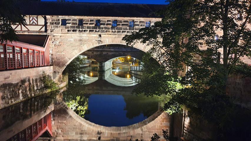 Die Brücke beim Krakauer Haus ist ein echter Blickfänger.