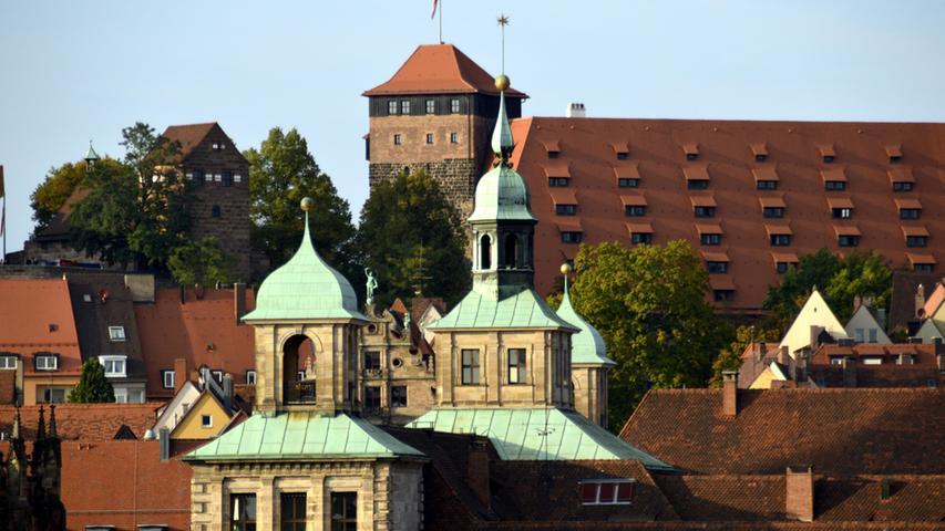 Über den Dächern Nürnbergs hat man eine tolle Aussicht.