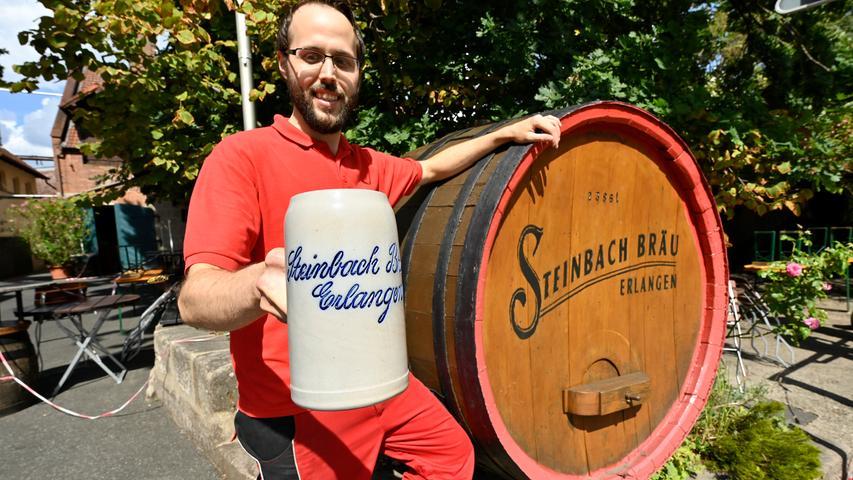 Die Steinbach-Brauerei in Erlangen