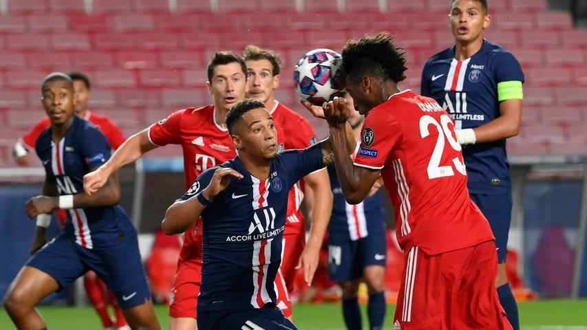 Coman köpft, Neuer hält: Die Bayern sichern sich gegen Paris das Triple